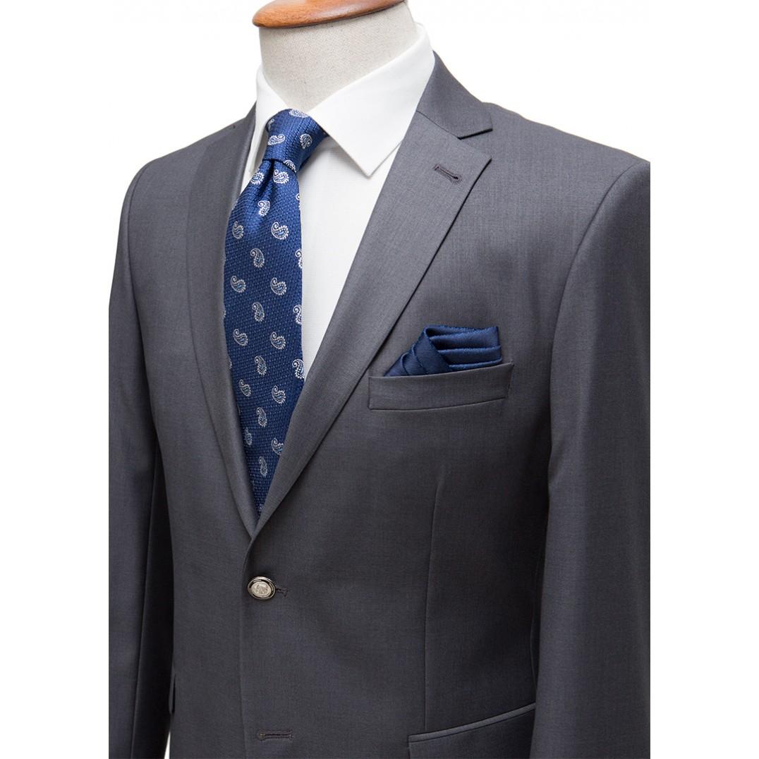 Antrasit Grey Blazer Jacket