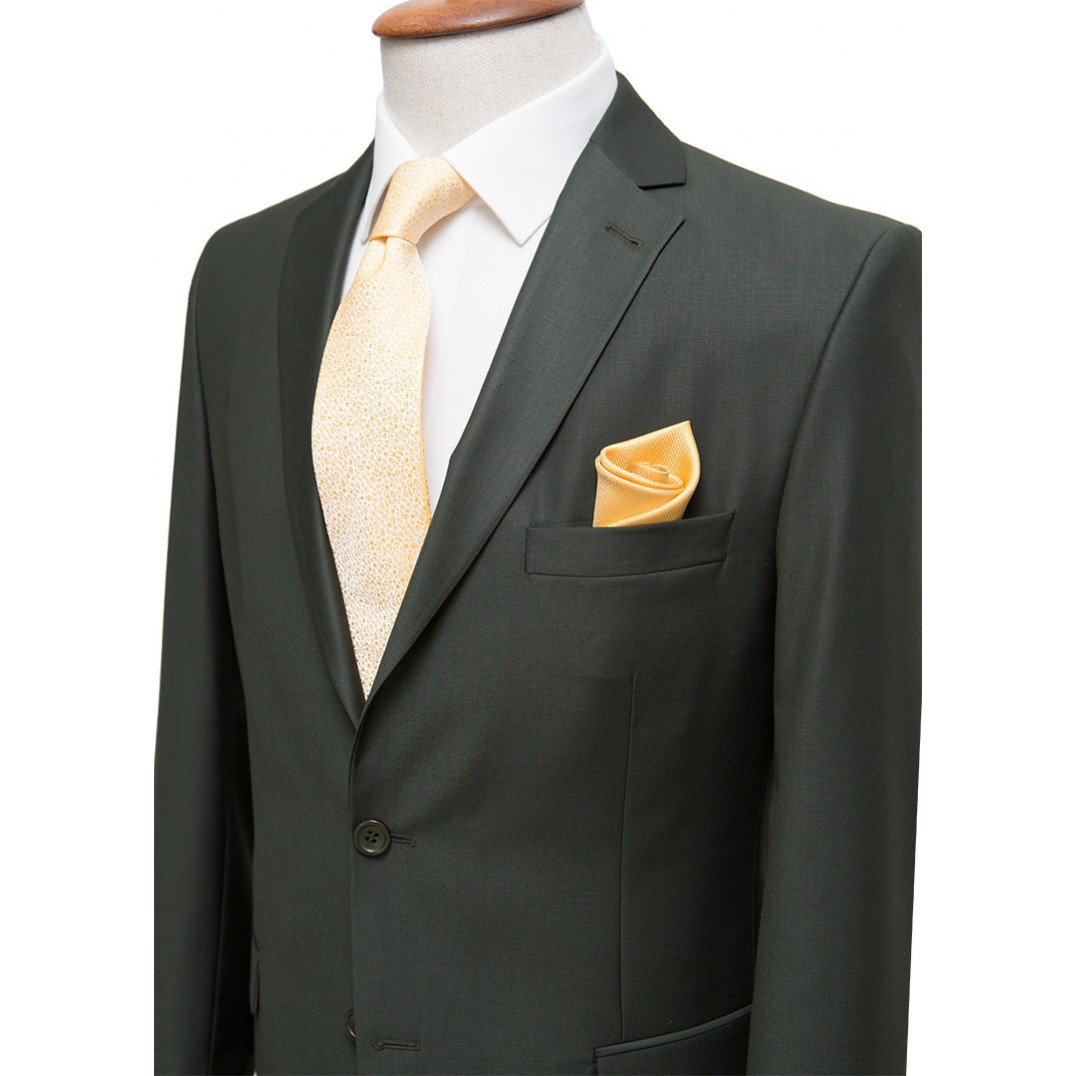 Plain Green Classic Suit