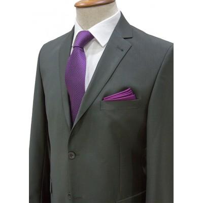 Plain Dark Green Classic Suit