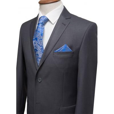 Plain Grey Classic Suit