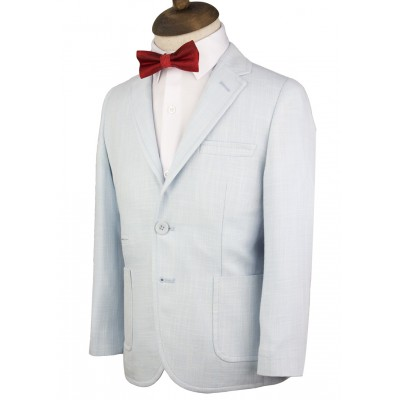 Kids Light Blue Blazer Jacket