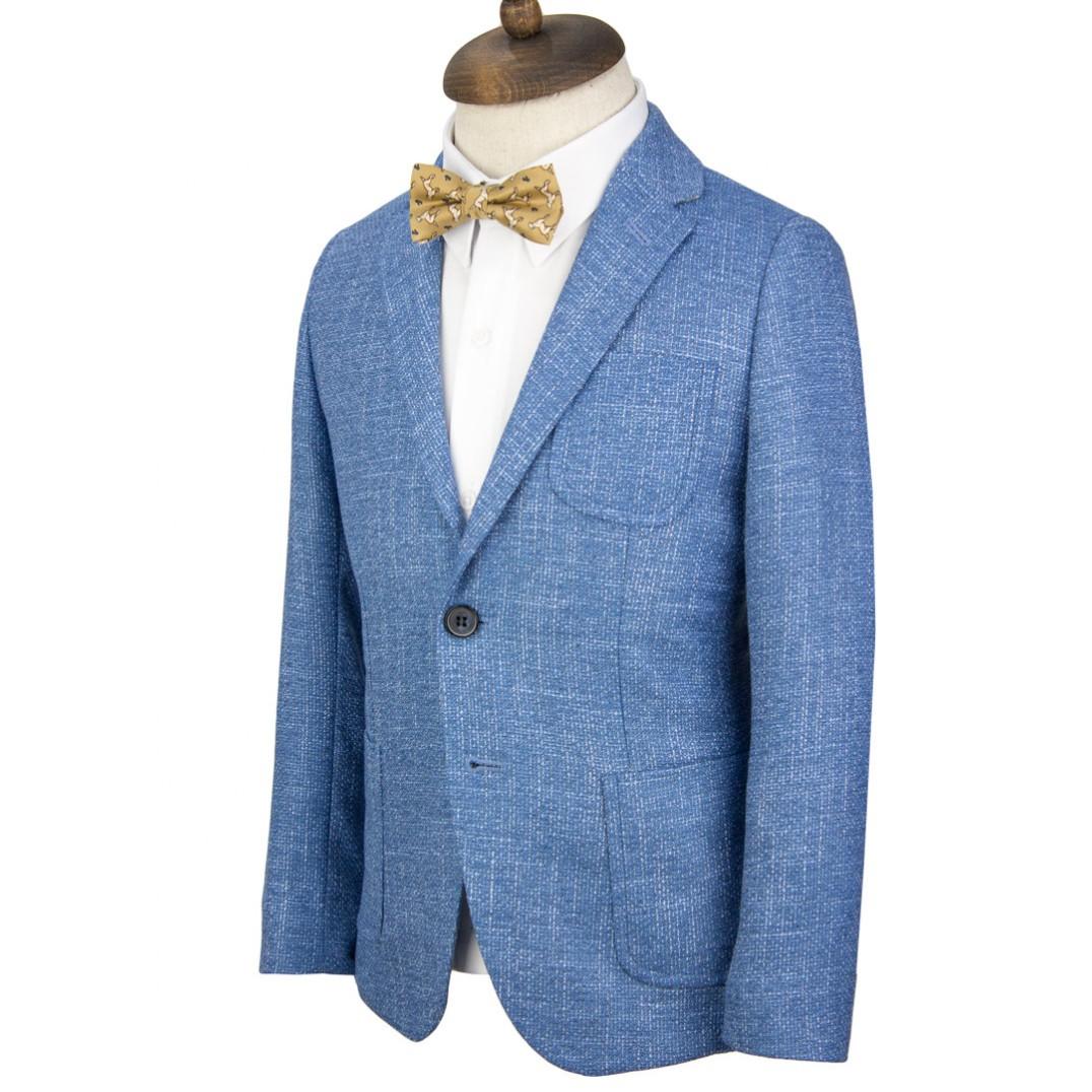 Blue Kids Blazer Jacket