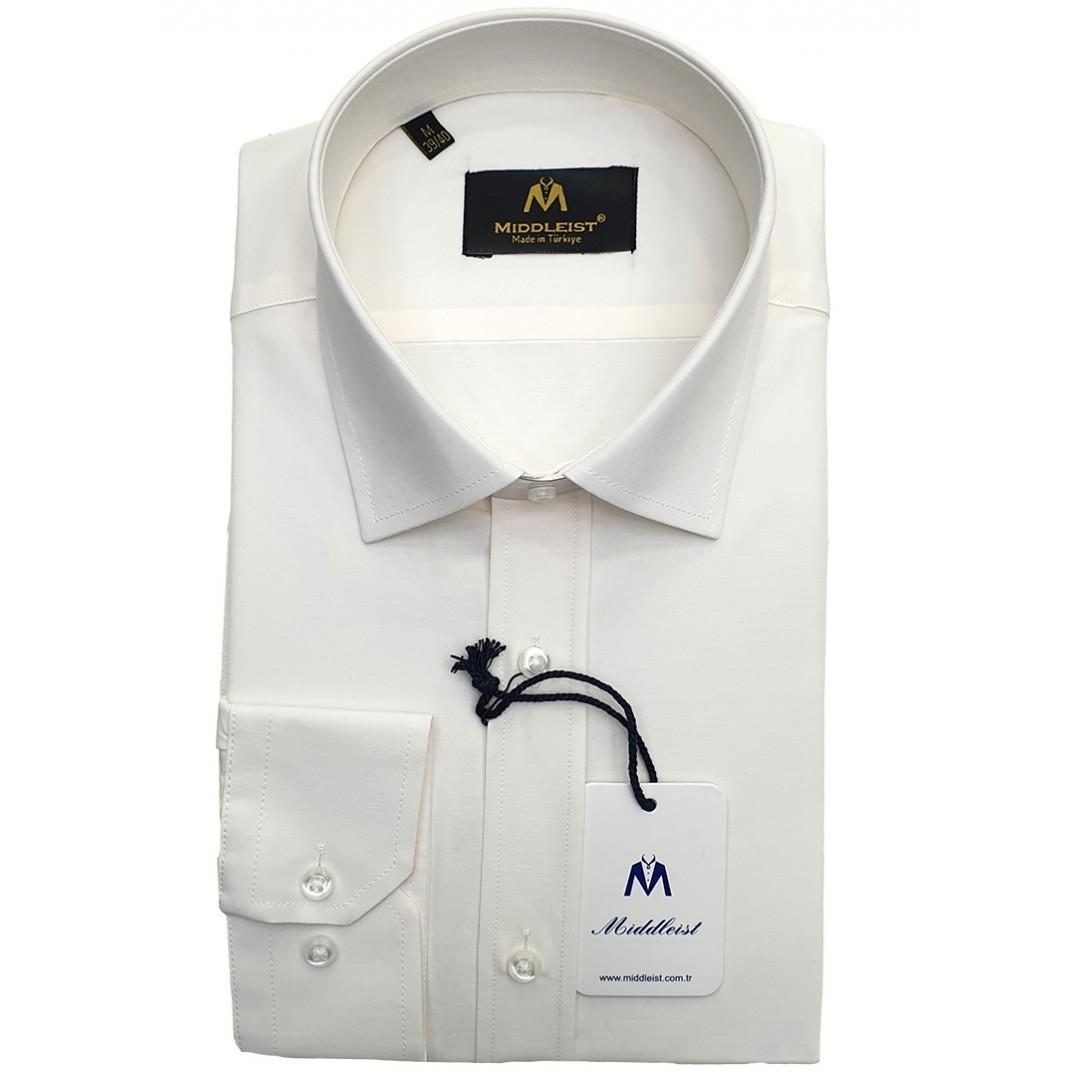 Plain Cream Shirt