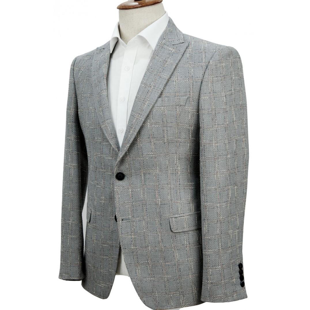 Plaid Grey Jacket