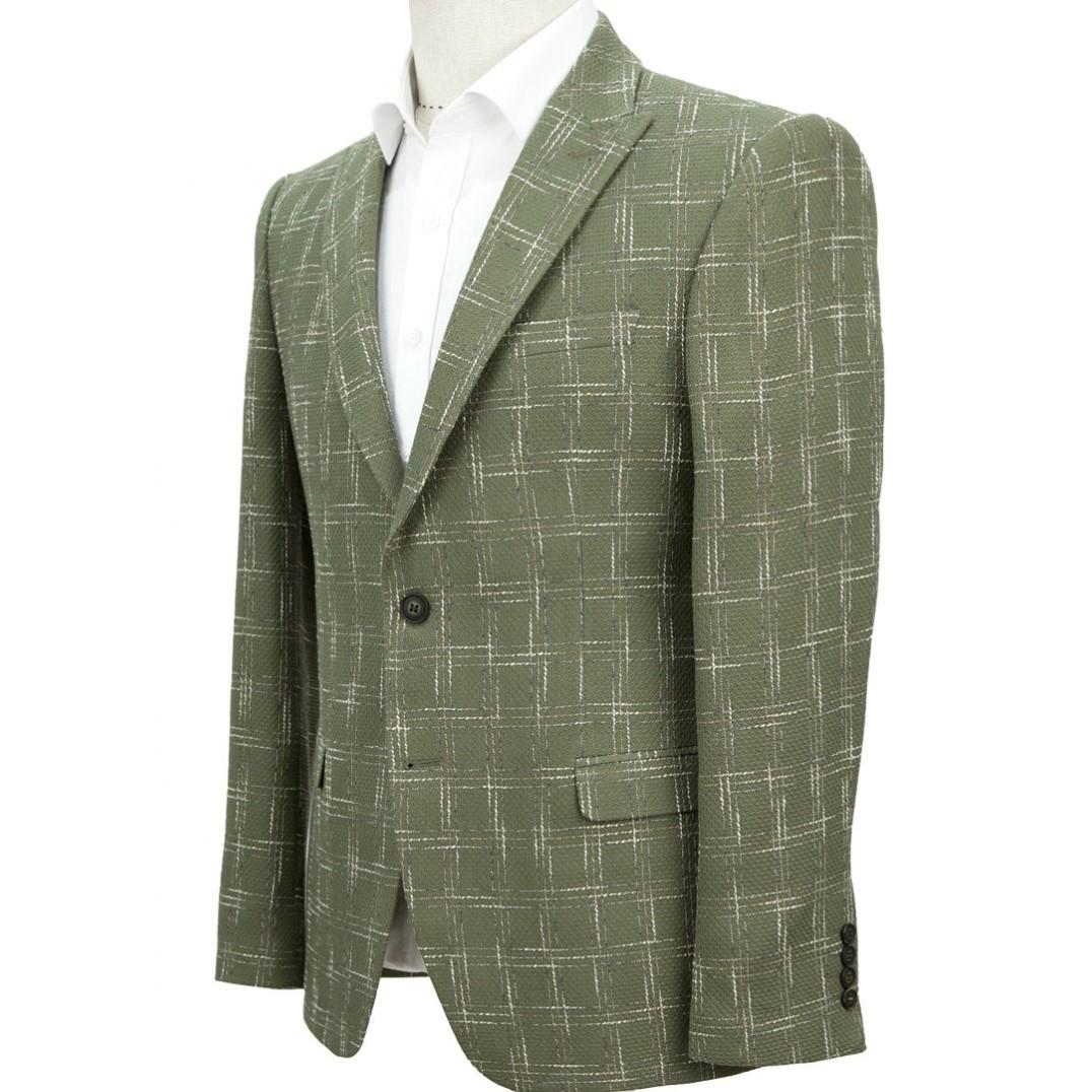 Plaid Green Jacket