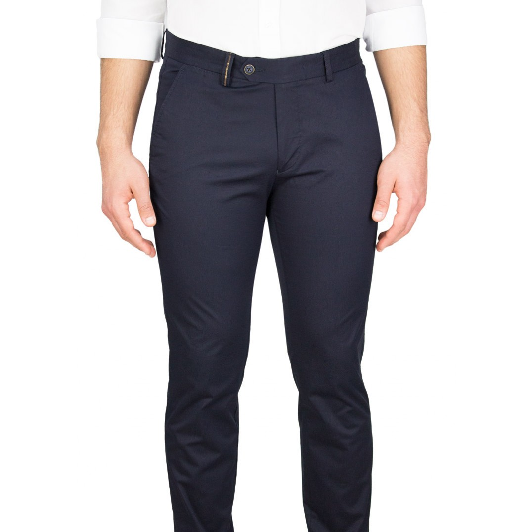 Navy Casual Trousers