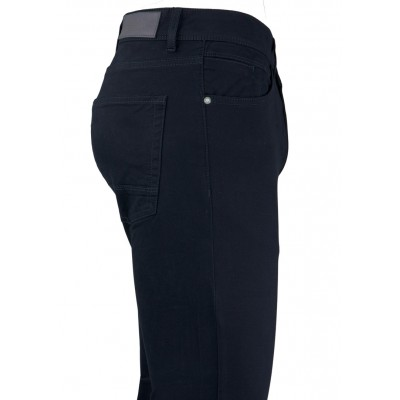 Dark Navy 5 Pockets Casual Trousers