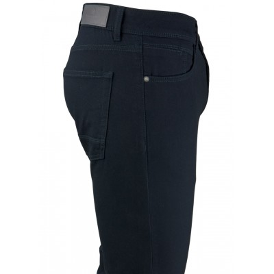 Bird's Eye Dark Navy 5 Pockets Trousers