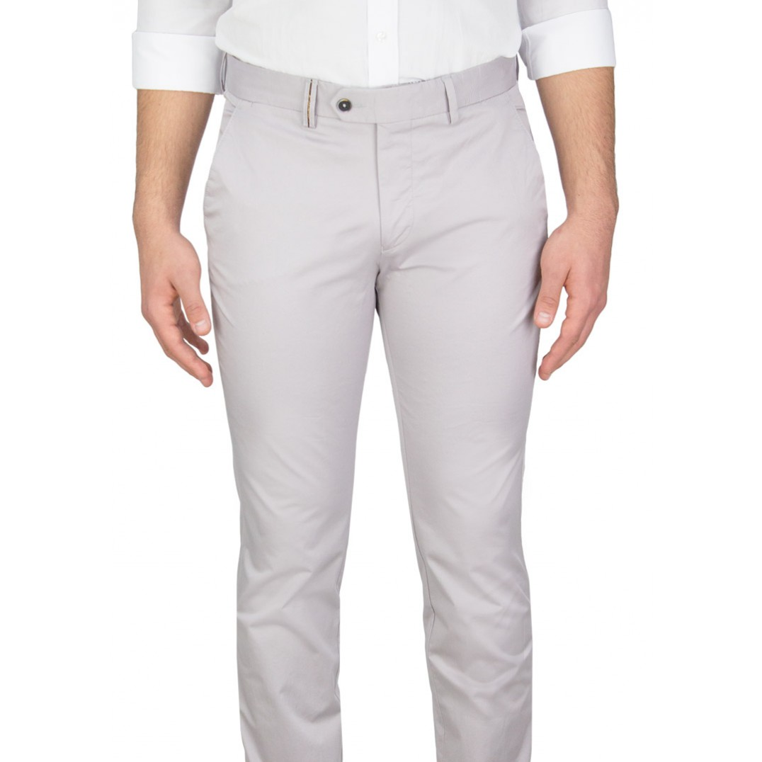 Light Grey Casual Trousers