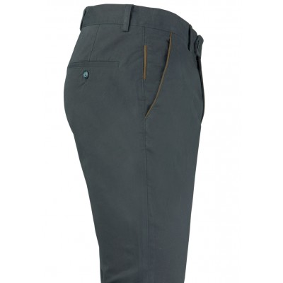 Plain Antrasit Grey 5 Pockets Trousers