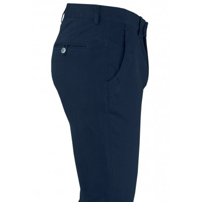 Plain Navy 5 Pockets Casual Trousers
