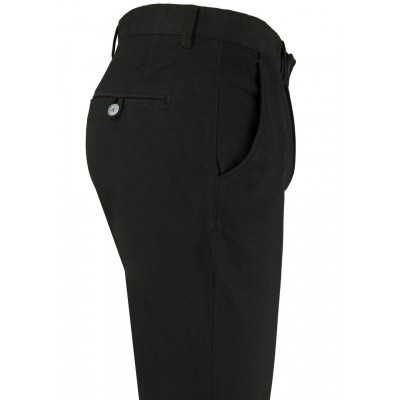 Plain Black 5 Pockets Casual Trousers