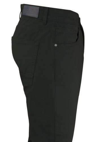 Brown 5 Pockets Casual Trousers
