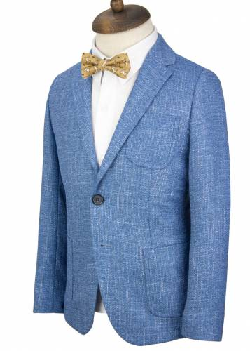 Kids Blue Blazer Jacket