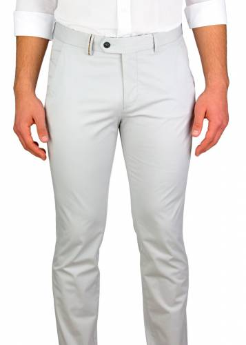 Light Grey 5 Pockets Casual Trousers