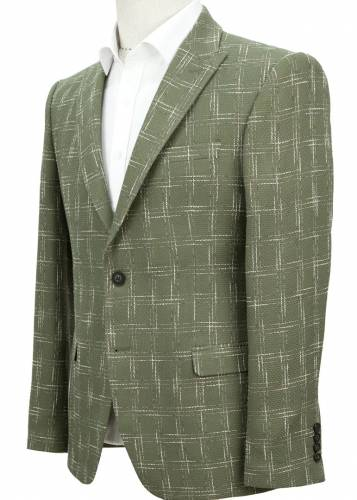 Plaid Green Jacket